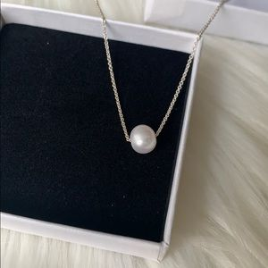 925 freshwater pearl necklace
